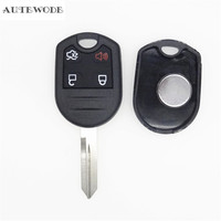 AUTEWODE New Car Remote Key Fob Shell Case For Ford Edge F150 250 350 Auto Key