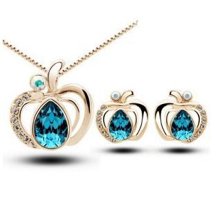 Fashion New Cute Women Necklaces Earrings Jewelry Sets For Wholesale CS228B12 ABC
