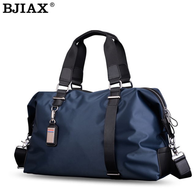 Aliexpress.com : Buy Fashion Men Nylon Travel Bags Men Luggage Bag ...