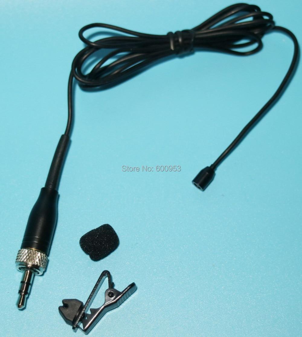 Mini Lavalier Lapel Microphone For Sennheiser SK100 300 500 G1 G2 G3 Wireless Transmitter - Noise Cancelling Condenser SE-B001