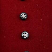 100pcs 1.5*11mm tamiya mini rubber plastic Wheel hot wheel toywheel Toy Accessories Technology Model Parts/rc/baby toys 111.5AH