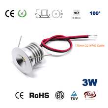 12pcs outdoor party light 3w 25mm ceiling lamp mini led downlight CE RoHS Cabinet and Stair Lights CE RoHS SAA