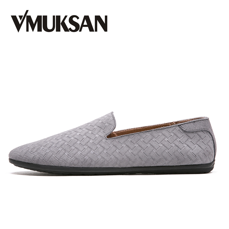 VMUKSAN Hot Sale Mens Loafers 2018 Fashion Casual Shoes Men Lightweight Slip On Man Driving Moccasins Shoes pl us size 38 47 handmade genuine leather mens shoes casual men loafers fashion breathable driving shoes slip on moccasins