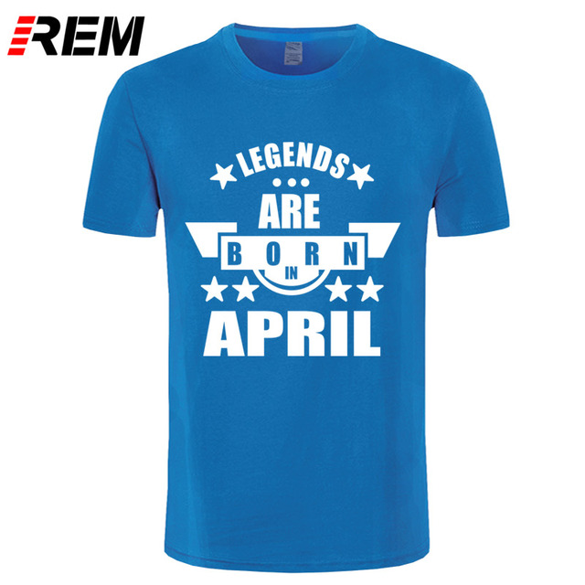 Funny Novelty T-Shirt Mens tee TShirt Legends April