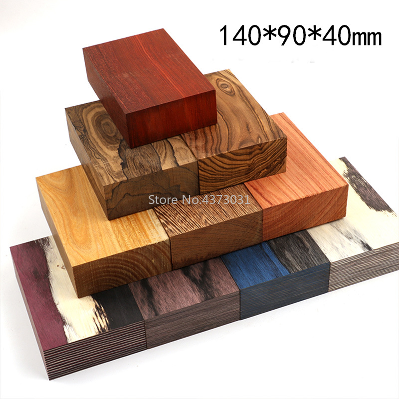 140x90x40mm DIY Slingshots Handle Material Patch Wood Solid Wood For DIY Wooden Catapult Handicraft Material