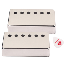 50mm Pole Spacing  16mm Height Humbucker Guitar Pickup Cover Nickel Plated for LP SG Eiphone Electric Guitar Parts custom shop sg special electric guitar single p90 pickup sg guitar