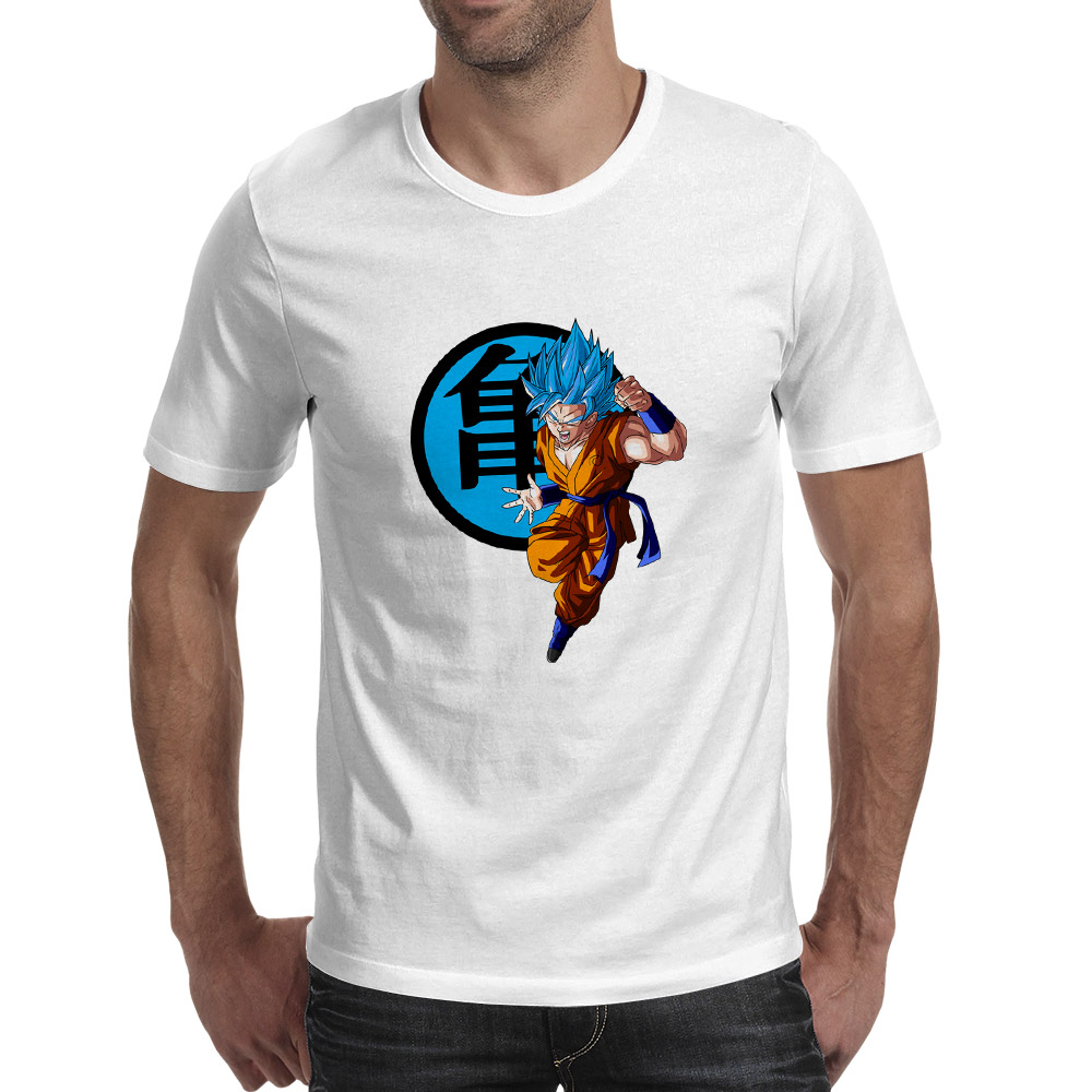 Super Saiyan Goku Is A Soldier T Shirt Classic Anime Cartoon Hip Hop Casual Skate O neck T shirt Funny Design Novelty Unisex Tee in T Shirts from Men 39 s Clothing