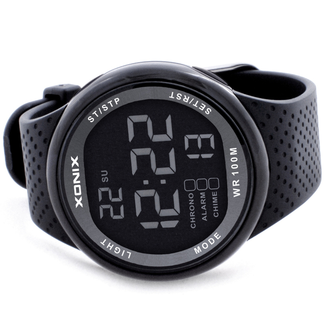 XONIX  Sports Watches Waterproof 100m Outdoor Digital Watch Swimming Diving Wristwatch Reloj Hombre Montre Homme