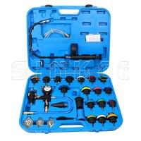 28Pcs Universal Cooling System Radiator Pressure Tester Test Detector Set