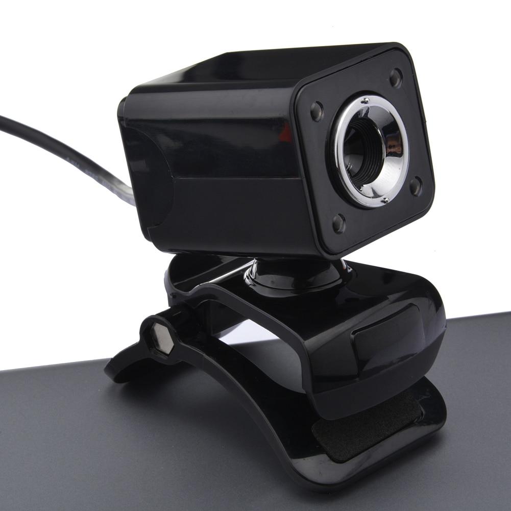 USB 2.0 HD 1080 P 12 M Pixel 4 LED 30 FPS Ordinateur webcam hd 1080 p Caméra 360 Degrés MIC Clip-on pour PC Ordinateur Portable De Haute Qualité
