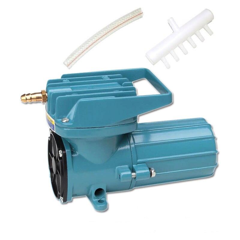 18 W 30L/min RESUN MPQ-902 12 V DC Électromagnétique Aquarium Air Compresseur pour Hydroponique Étang Portable Fish Tank oxygène Pompe À Air