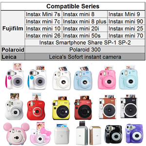 Image 5 - Fujifilm Instax Mini Film Bianco 40 300 Lenzuola w Regali per FUJI Instant Photo Camera Mini 9 8 8 + 7s 25 50s 70 90 Stampante SP1 SP2