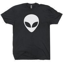 Aliens Head T SHIRT UFO Space Cosmos X Sci-fi Geek Gamer Logo Believe Files Tee High Quality Casual Clothing