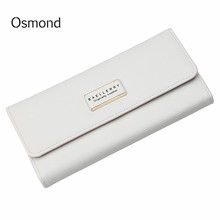 Osmond Brand Women's Leather Wallet Card Holder Clutch Bags