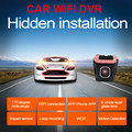 Best Wifi Car DVR DVRs Registrator 1080P Night Version Dash Camera Cam Digital Video Recorder Camcorder Novatek For Android/IOS