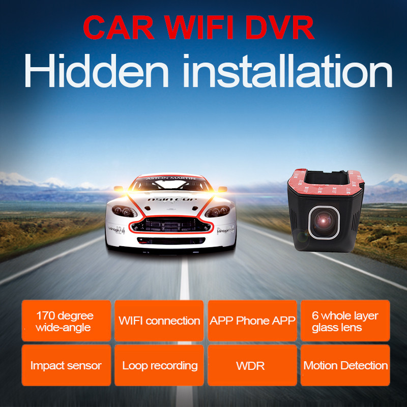 Best Wifi Car DVR DVRs Registrator 1080P Night Version Dash Camera font b Cam b font