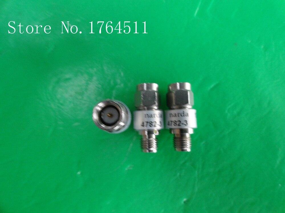 [BELLA] NARDA 4782-3 DC-18GHz Att:3dB 2W SMA Coaxial Fixed Attenuator  --2PCS/LOT
