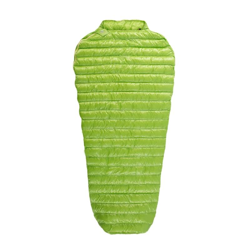 AEGISMAX сверхлегкий спальный мешок мини-мини длинный 95% гусиный пух Мумия Открытый Кемпинг удлиненный взрослый Нейлон Весна ленивый мешок