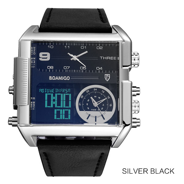 new silver black