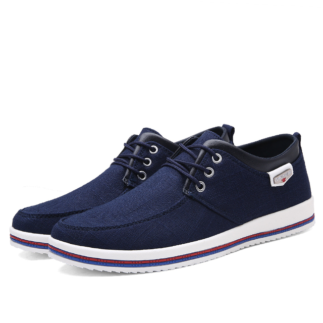 ZUNYU New Arrival Spring Summer Comfortable Casual Shoes Mens Canvas Shoes For Men Lace-Up Brand Fashion Flat Loafers Shoe
