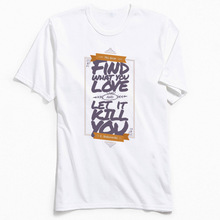 T Shirts Love Kill Men Tshirt Slim Fit Short Sleeve Top T-shirts My Dear Hip Hop Summer/Fall 100% Cotton Fabric Tee Letter Print