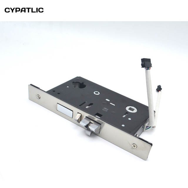 US $28 0  Zinc Alloy Hotel electronic lock works with T57 rfid card-in Door  Locks from Home Improvement on Aliexpress com   Alibaba Group