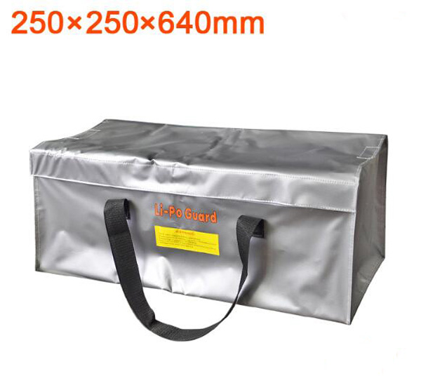 High Quality Fireproof Explosion-proof RC LiPo Battery Safety Bag Safe Guard multifunctional Storage Case 64x25x25cm With Handle