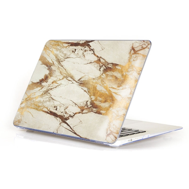 Wholesale Price Marble Matte Hard Case Cover Top Bottom Shell For Macbook Air Pro Retina 11.6 12 13.3 15.4 Protector Case Skin