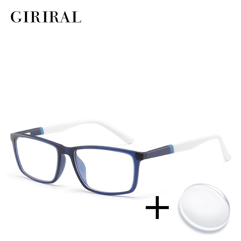 TR90 men prescription glasses astigmatism computer reading myopia clear photochromic transparent sight optical glasses #MOD.5028