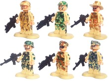 Special Forces Army Camouflage Soldiers Assault Troops minifigure Building Block Brick counter strike minifig