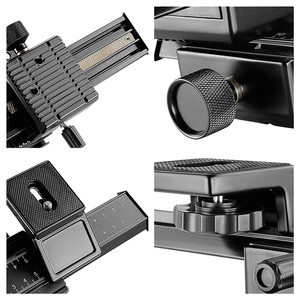 """Image 5 - HFES 4 Way Macro Focusing Rail Slider for Canon Sony Pentax Nikon Olympus Samsung and other Digital Camera with 1/4"""" Screw Hole"""