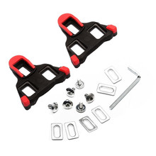 IN STOCK 6 Degree Road Bicycle Self-locking Cleats Cycling Shoes Accessories Bike Pedal Lock Card SM-SH11 SPD-SL Red Yellow