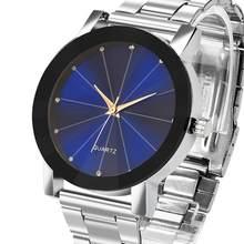 Relógio de Homens de Aço Marca de Luxo Data Relógio de Prata Dos Homens de Negócios Assista Reloj Hombre Relogio masculino De Luxo Clássico Do Vintage # D