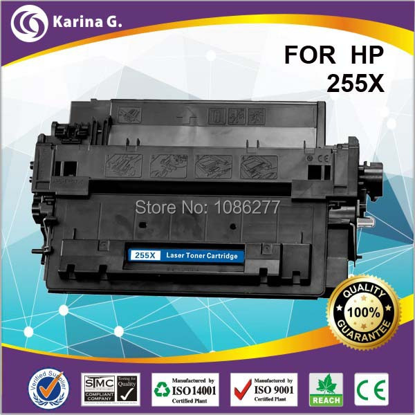 HIGH YIELD 12500 PAGE YIELD 55X 255X comaptible toner cartridge for HP Ce255X a+Quality for Canon LBP6750dn