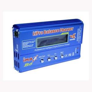 Image 4 - Cargador de batería Lipro Balance, cargador iMAX B6, cargador de equilibrio Digital Lipro + adaptador de corriente 12V 6A, Cables de carga