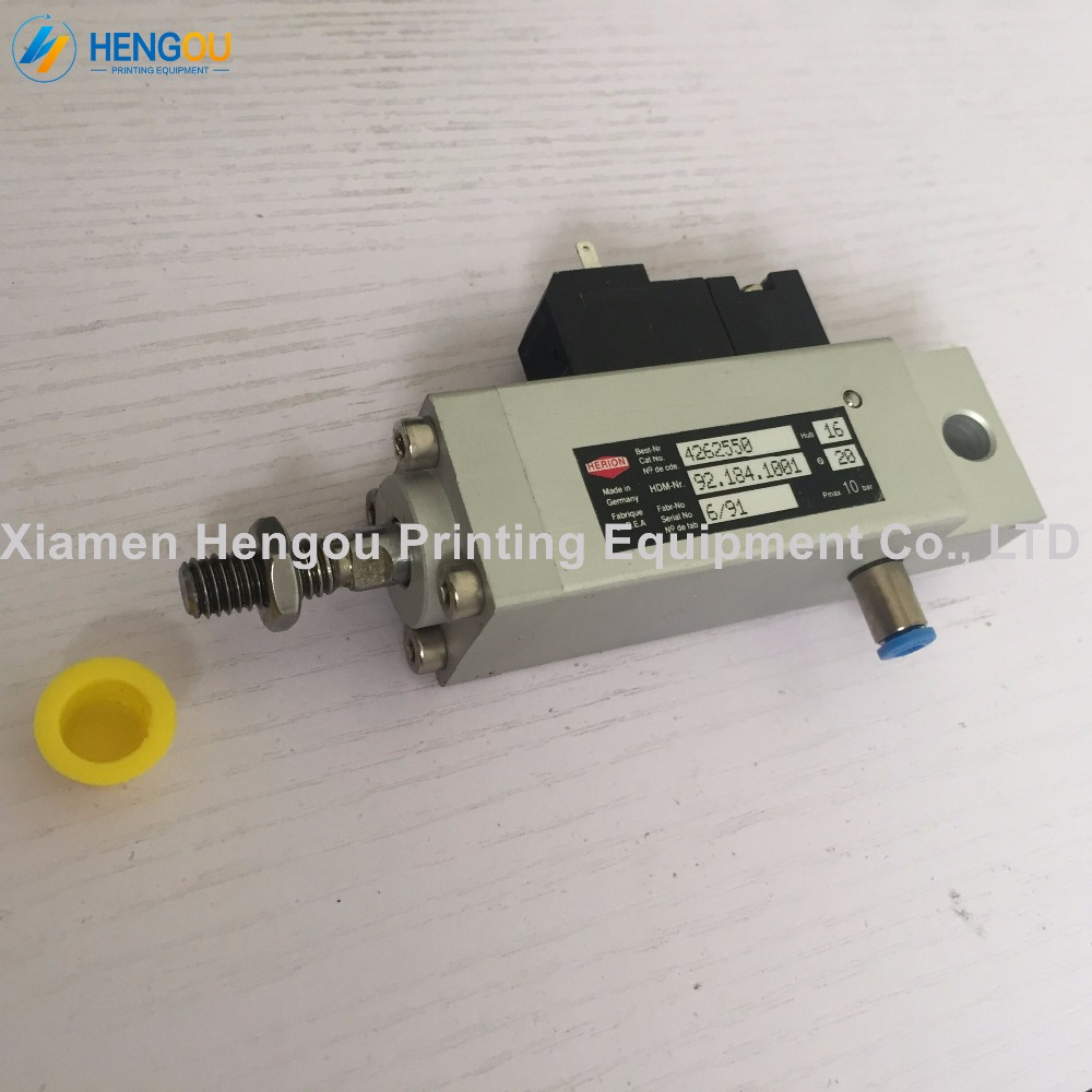 1 Piece Feeder Solenoid valve 92.184.1001 for Heidelberg CD102 SM102 CD74 printing press machine 1 pair heidelberg feeder paper wheel for sm102 cd102 printing machine feeder press paper wheel