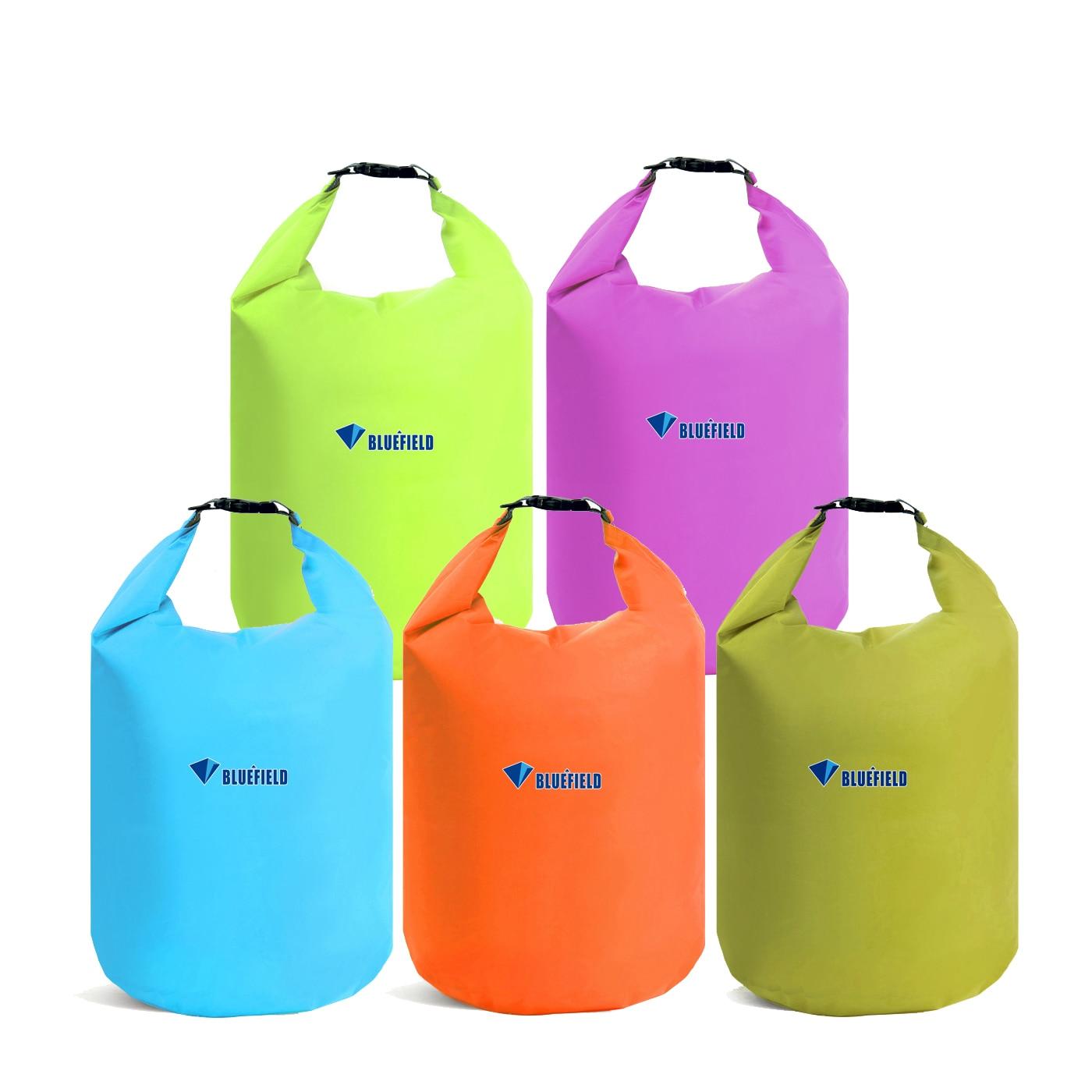 10L 20L Waterproof Dry Bag Pack  River Trekking Bag Roll Top Compression Sack For Swimming Rafting Kayaking Floating Boating