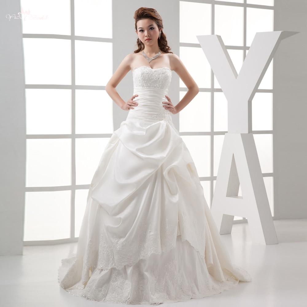 Samples Of Wedding Gowns: RSW276 Real Sample Taffeta Wedding Dress-in Wedding