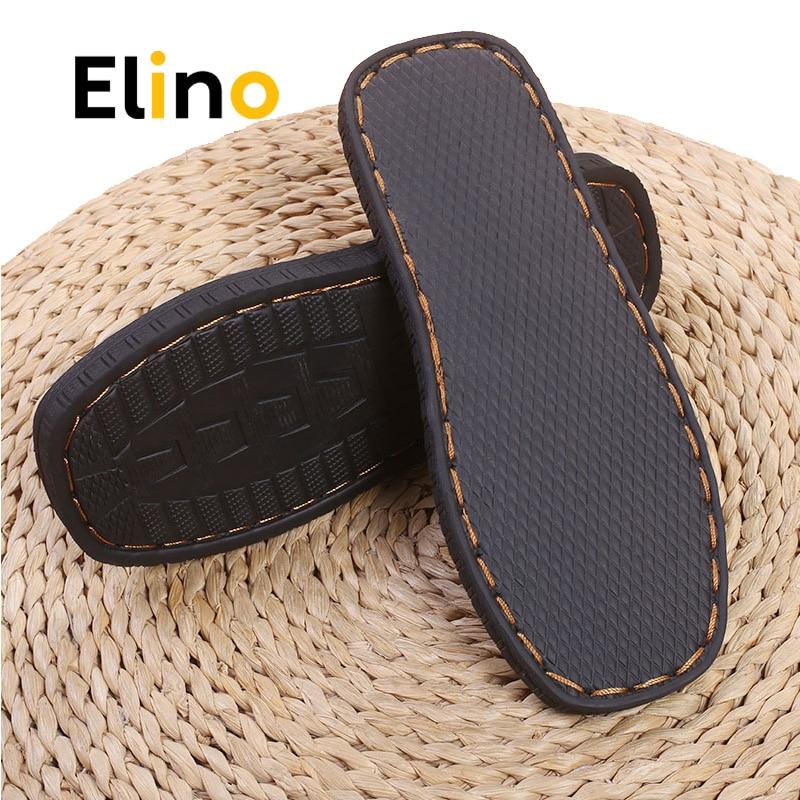Elino 1 Pair Men Women Rubber Soles Anti-slip Wear-resistant Insoles DIY Sneaker Cotton Slipper Soles Wholesale Dropshipping