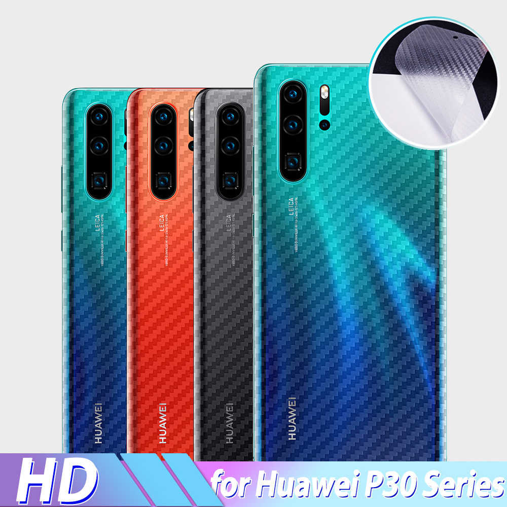 Soft Carbon Fiber Film for Huawei P30 Pro Lite Screen Protector Back Sticker Protective Carbon Fiber for Huawei P30 20 Pro Film