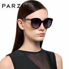 PARZIN marca Vintage ronda las gafas hermosa impresión cuadrada marco  grande gafas de sol para conducir calidad Accessories9523 9bd982ba1d3a