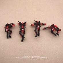 Disney Marvel X-Men Deadpool 2 Action Figure Sitting Posture Model Anime Mini Doll Decoration PVC Collection Figurine Toys model