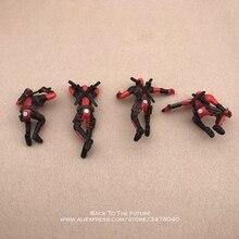 Disney Marvel x-men Deadpool 2 Figurine assise Posture modèle Anime Mini poupée décoration PVC Collection Figurine jouets modèle