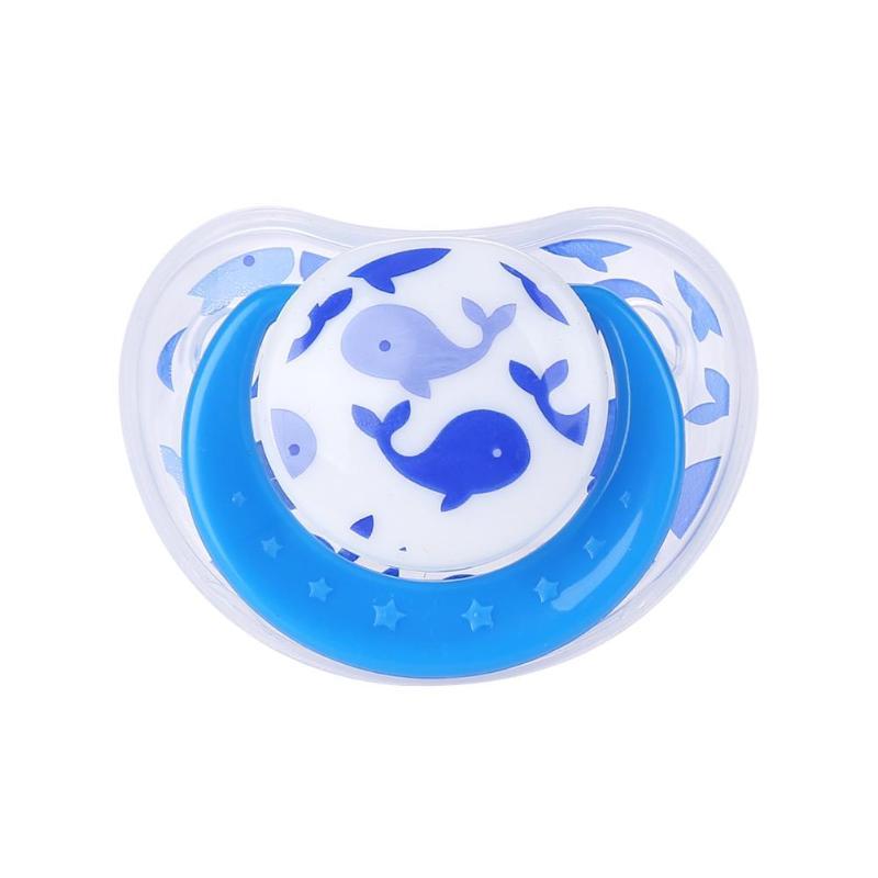 Милая портативная детская Силиконовая пустышка для новорожденных забавная Соска-пустышка анти-Пылезащитная крышка безопасный грызунок для младенцев инструмент для кормления - Цвет: D