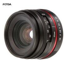 лучшая цена Black 25mm F1.8 Prime Lens Manual Focus for Canon EF-M Mount M5 M50 M6 M10 M100 Mirrorless Camera