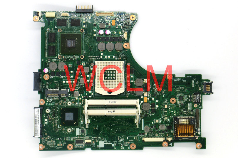 цены  free shipping NEW original N56V N56VM motherboard MAIN BOARD 60-N9JMB1300 GT630M 2G N13P-GL-A1 100% Tested Working