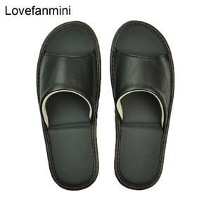 Image 1 - หนัง Sheepskin แท้รองเท้าแตะคู่ Indoor Non SLIP ผู้ชายผู้หญิงหน้าแรกแฟชั่นแบบสบายๆรองเท้าเดี่ยว PVCsoft soles ฤดูใบไม้ผลิฤดูร้อน