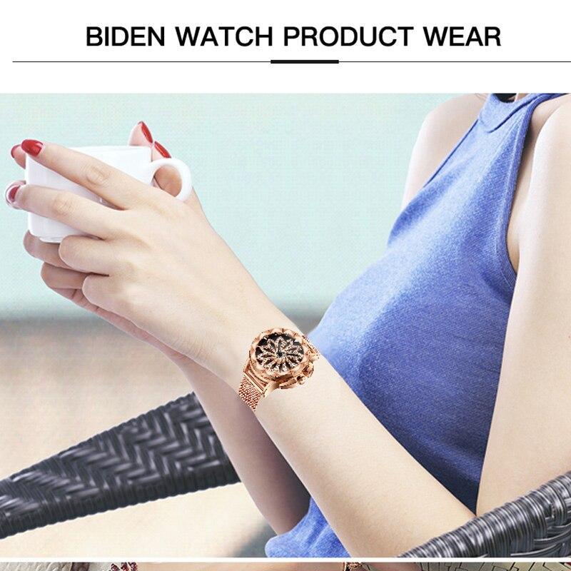 BIDEN-Luxury-Crystal-Rose-Golden-Women-Watch-Full-Rhinestone-Flower-Dial-Design-Steel-Mesh-Band-Waterproof (5)