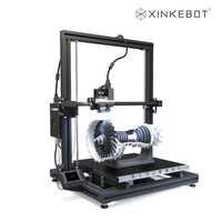 Xinkebot Orca 2 Cygnus imprimante 3D professionnelle entraînement Direct double extrudeuse nivellement automatique 15.7x15.7x18.9in 3D Drucker Impresora 3D