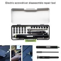 Precision Electric Screwdriver Set Mobile Phone Laptop Disassemble Repair Tool can CSV